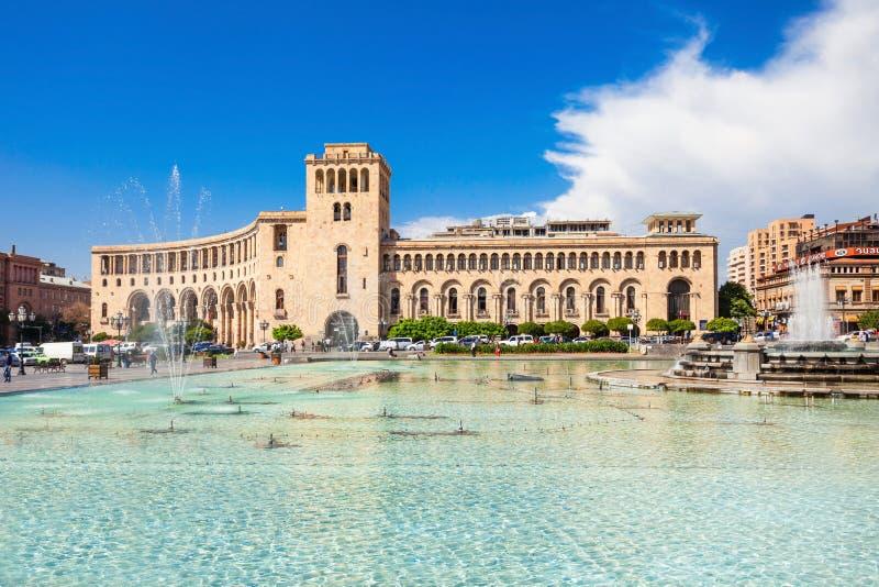 Republic Square, Yerevan royalty free stock images
