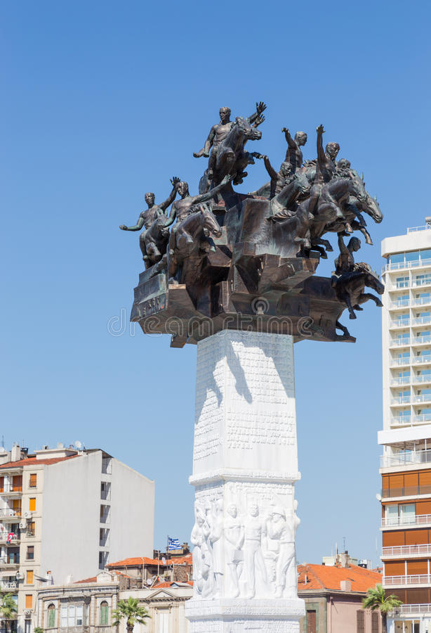 Download Republic Tree Monument, Izmir, Turkey Stock Image - Image of independence, attraction: 31910077