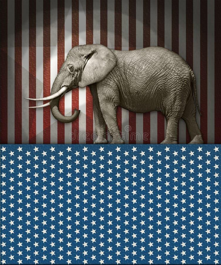 Republican Elephant Editorial Photo Illustration Of Republican