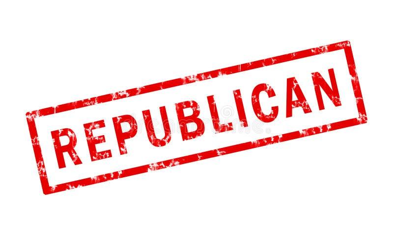 Republicano ilustração stock