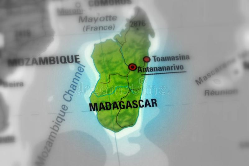 Republiek Madagascar stock foto