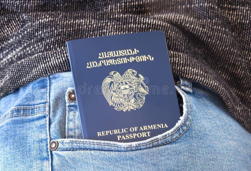 Republik- Armenienpaß, Ferien-Konzept stockfotografie