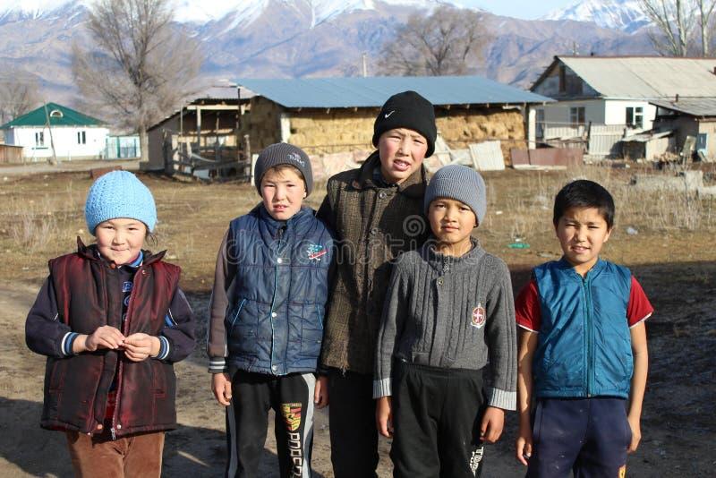 Republik von Kirgisistan stockfoto