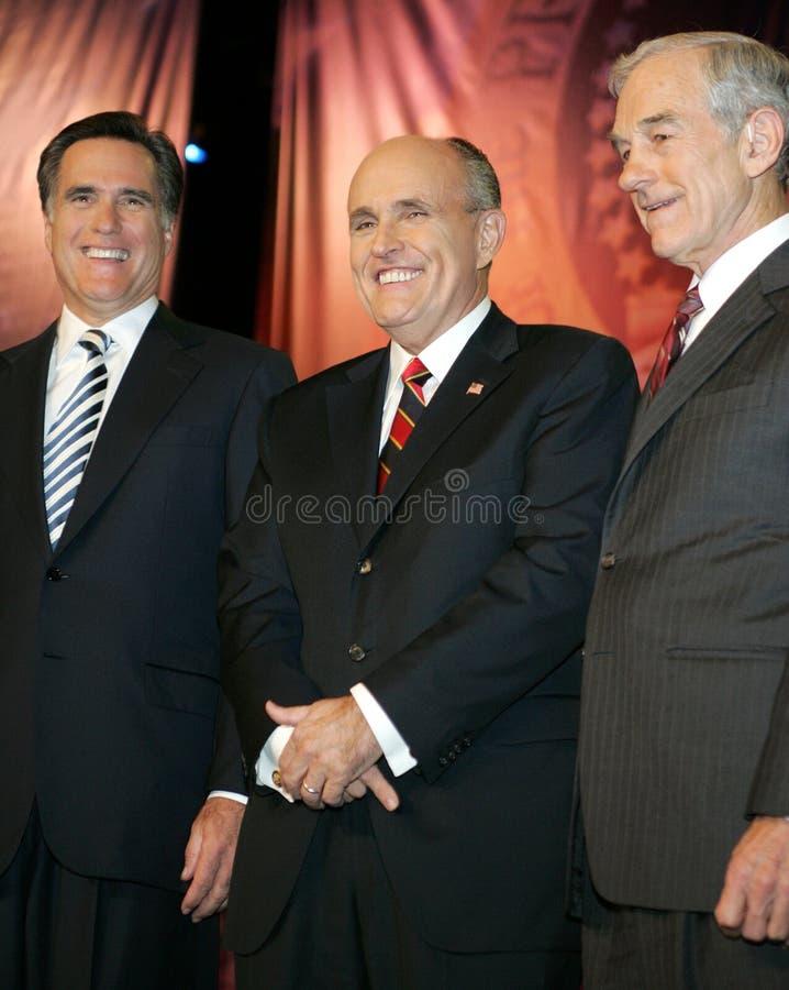 2007 Republikańskich Prezydenckich forów obraz stock