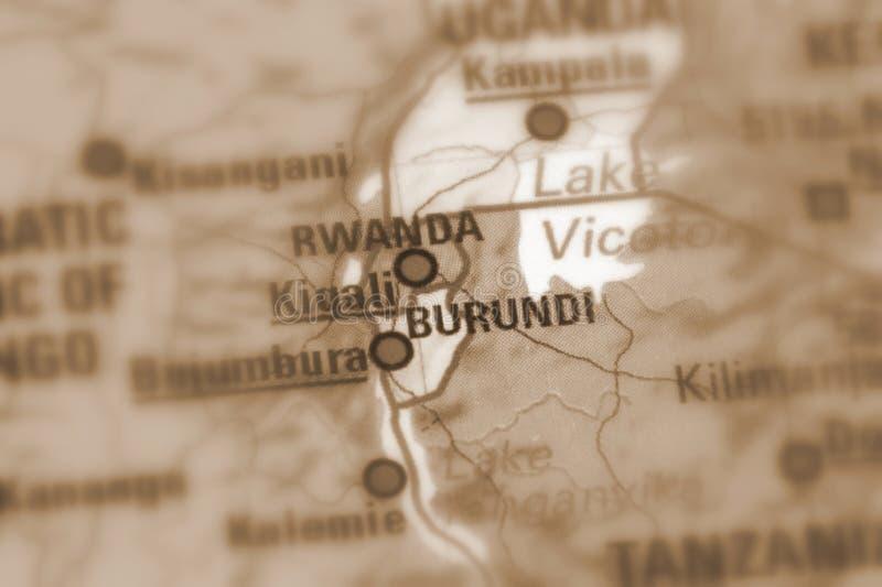Republika Burundi obraz stock
