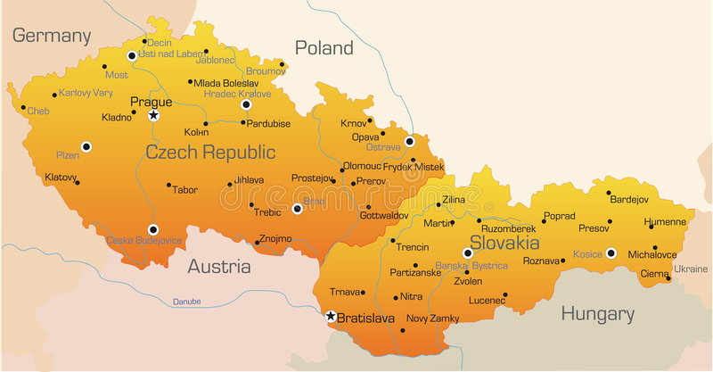 Republika Czech i Sistani ilustracji