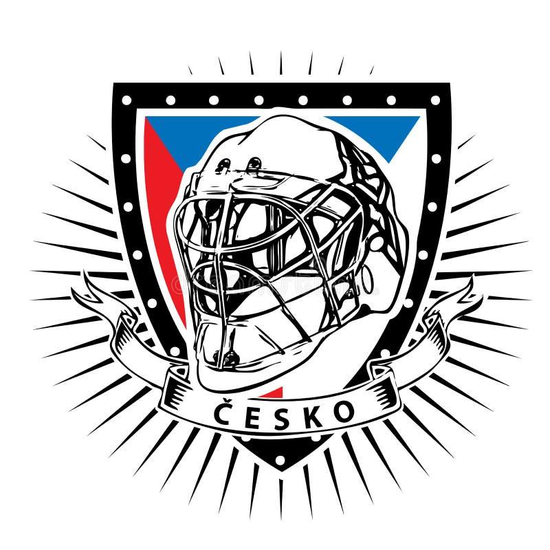 Republika Czech lodowego hokeja osłona ilustracji