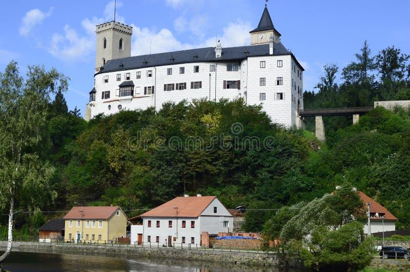 Republika Czech, Rozmberk fotografia stock