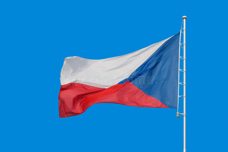 republika czeska bandery obrazy royalty free
