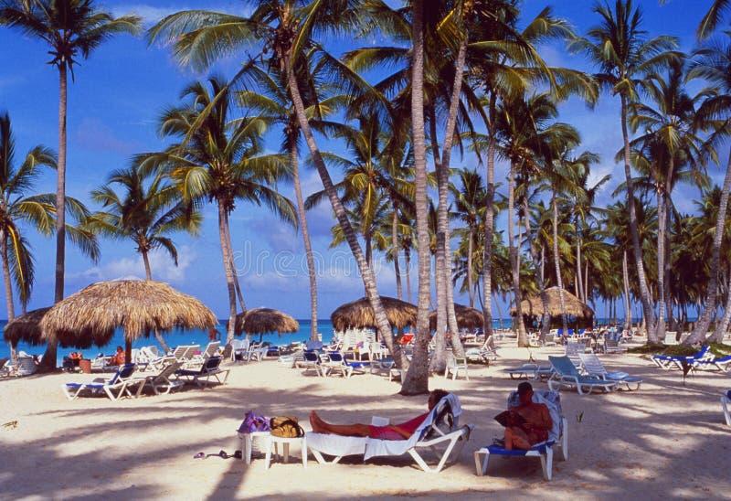 Republika Dominikańska: Bavaro plaża przy Punta Cana fotografia royalty free