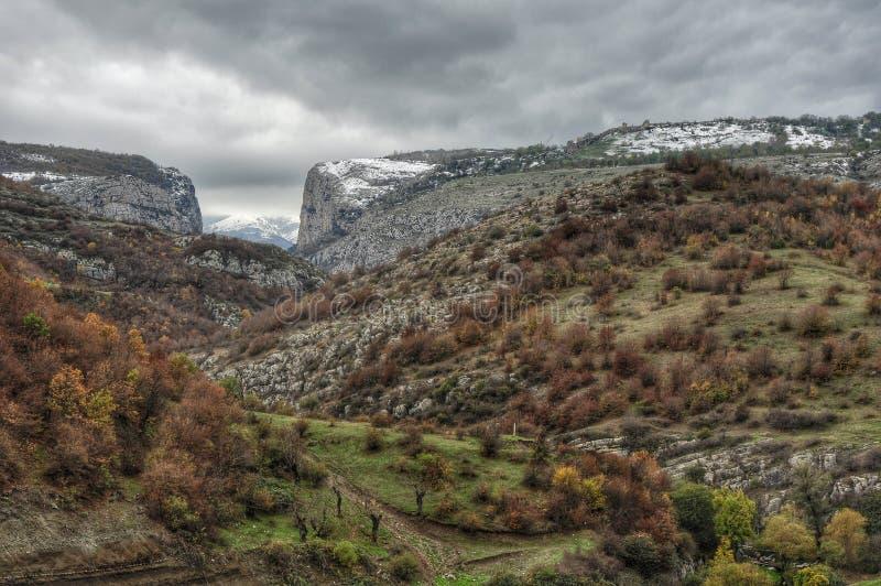 republika Mołdowy krajobrazowa jesieni zdjęcie stock