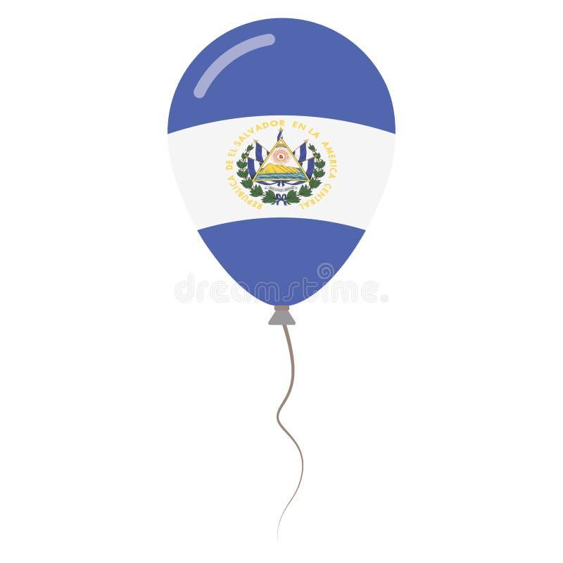 Republika Salwador krajowi kolory royalty ilustracja