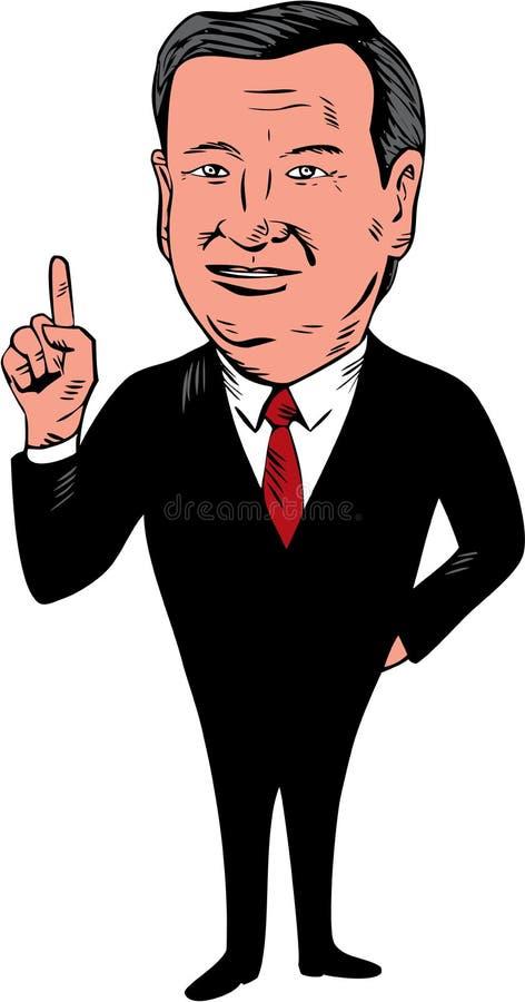 Republikaner-Kandidat Ted Cruzs 2016 vektor abbildung