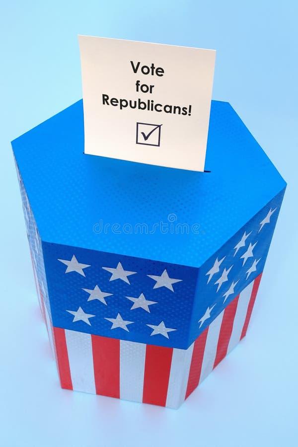 Download Republikanina Głosowanie Obrazy Royalty Free - Obraz: 6940039