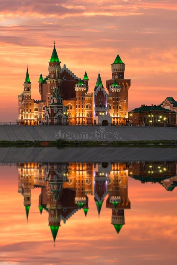 Republikansk dockateater Yoshkar-Ola stad Ryssland royaltyfri foto