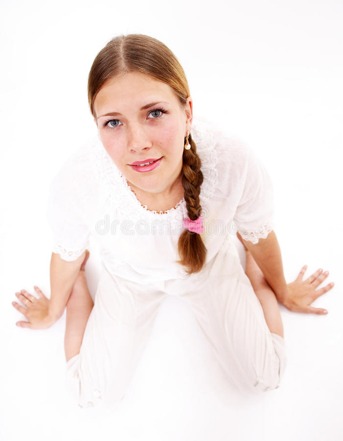 Download The request stock photo. Image of face, young, clothes - 10798324