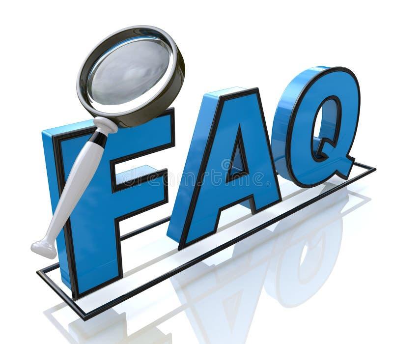 Request FAQ stock photos