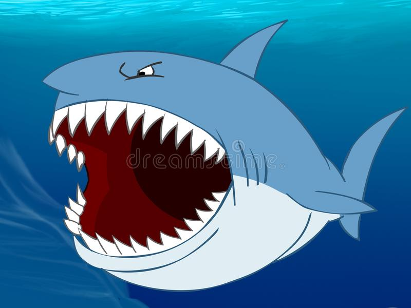 Requin 2 illustration libre de droits