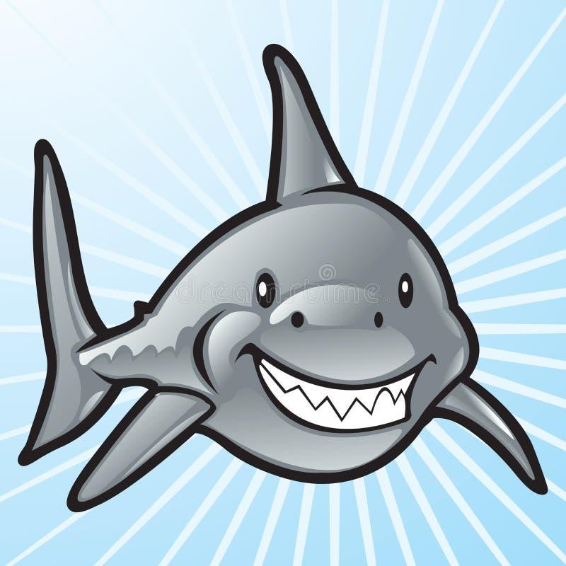 Requin de vecteur illustration libre de droits