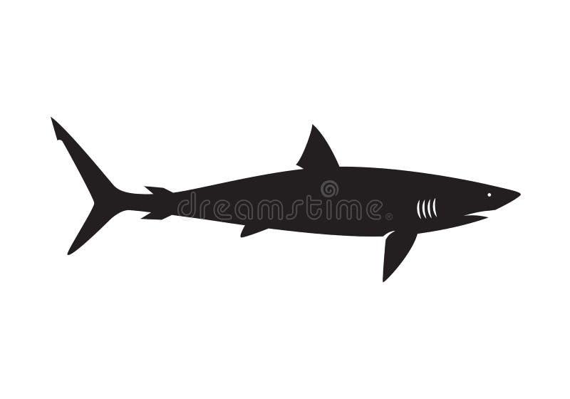 Requin graphique, vecteur illustration stock