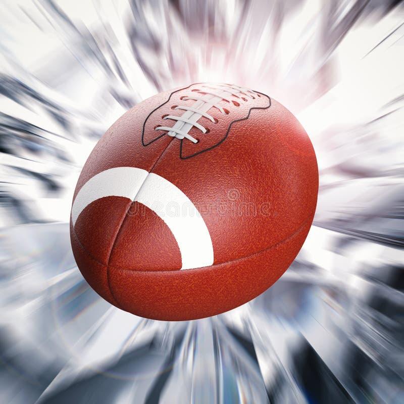 Requisito di gioco del calcio ball illustrazione di stock