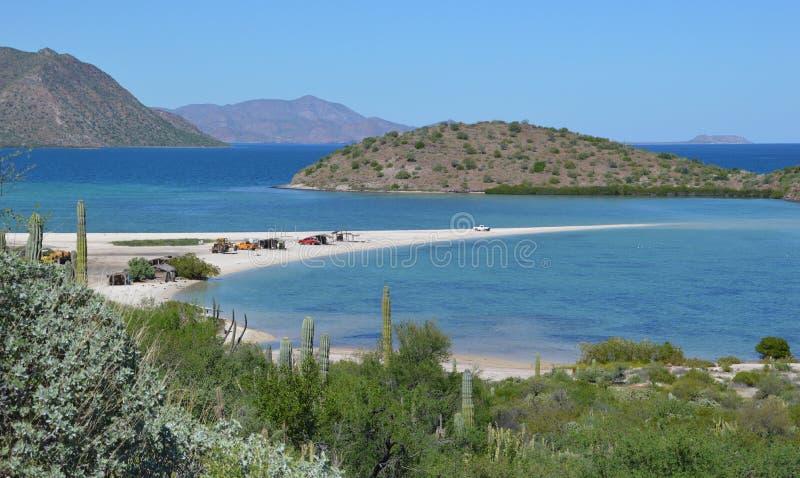 Requison en la bahía del concepto, Baja California, México fotos de archivo