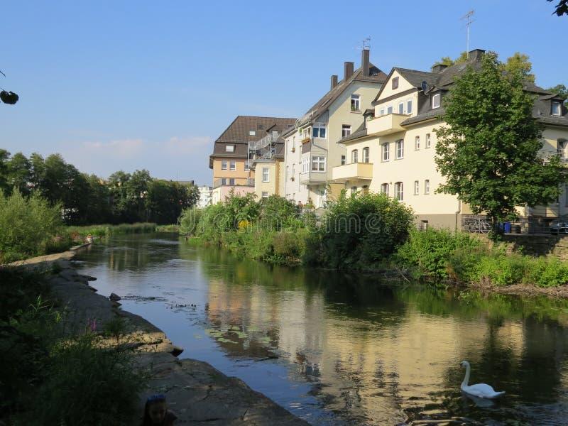 Resa i Tyskland Staden av Wetzlar royaltyfri foto