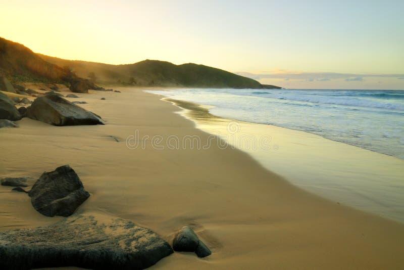 Resaca海滩, Isla Culebra 库存照片