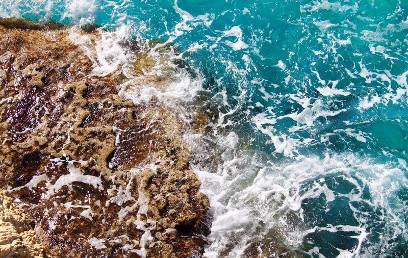 Resaca del mar imagen de archivo libre de regalías