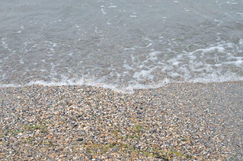 Resaca en el Mar Negro, Anapa imagen de archivo