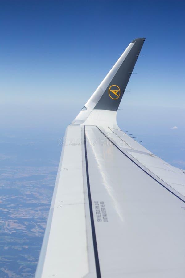 Resaen-avion arkivbild