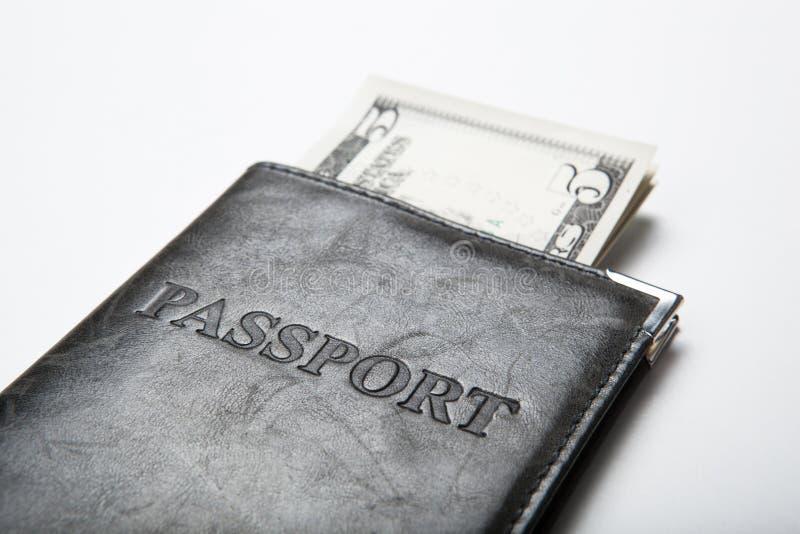 Resande utland med pengar fotografering för bildbyråer