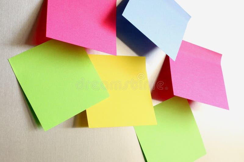 Resbalón de papel fotos de archivo