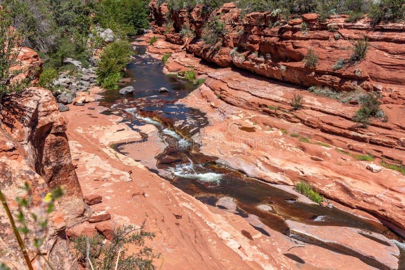 Resbale el parque de estado de la roca fotos de archivo libres de regalías