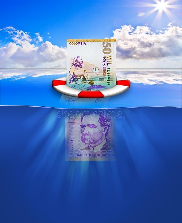 Rescate financiero stock de ilustración