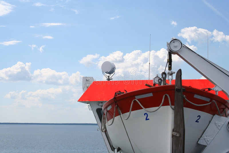 Download Rescue boat stock photo. Image of danger, horizon, safety - 167496