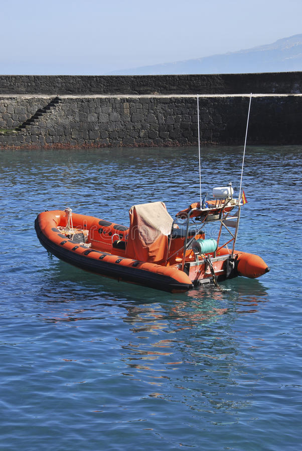 Download Rescue boat stock image. Image of inflatable, public - 18081381