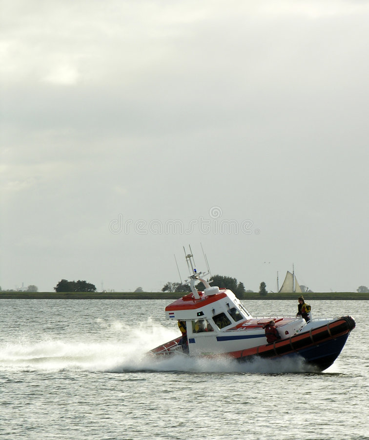 Download Rescue boat stock image. Image of lifeguard, boat, storm - 265415