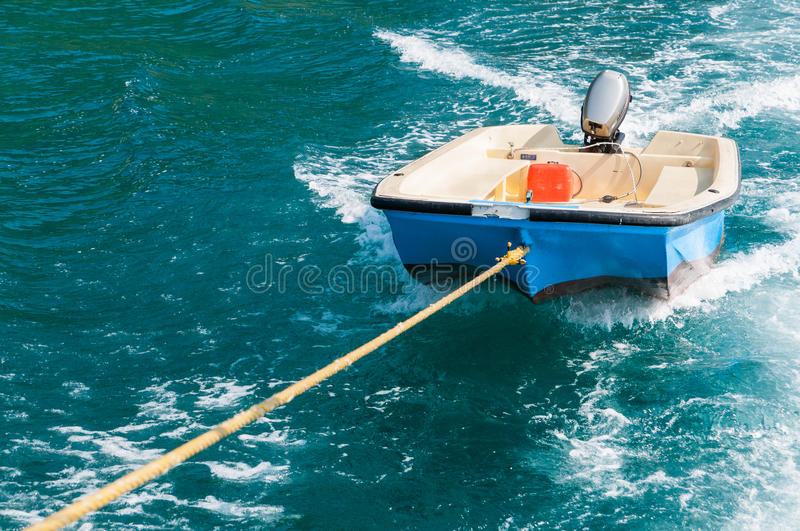 Download Rescue Boat Floating On The Water Stock Photo - Image of engine, nature: 27402460