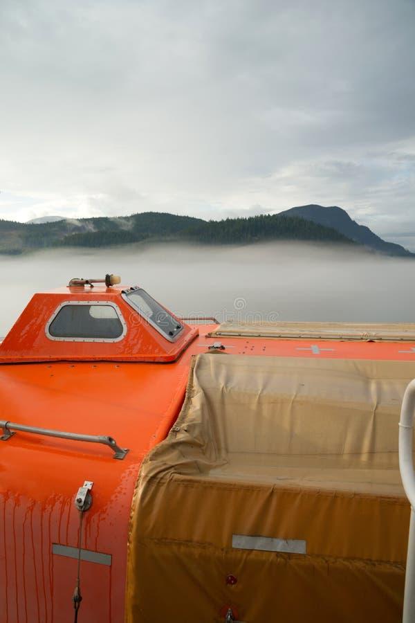 Disney Cruise Ship Engine Room: Cruise Ship Sea Ferry Smokestack Cloudy Skies Stock Photo
