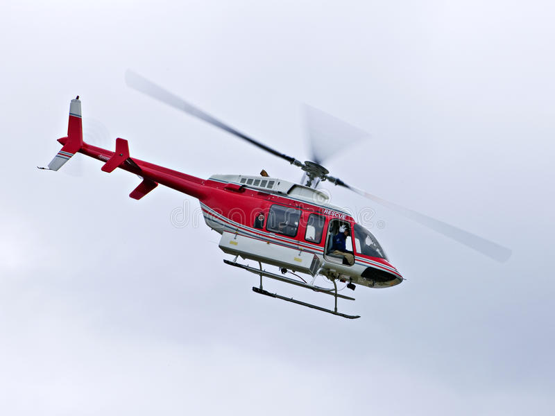 Rescue helicopter royalty free stock photos