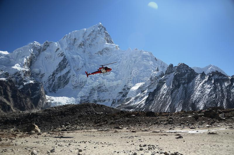 Download Rescue helicopter stock image. Image of asia, aero, annapurna - 21724965