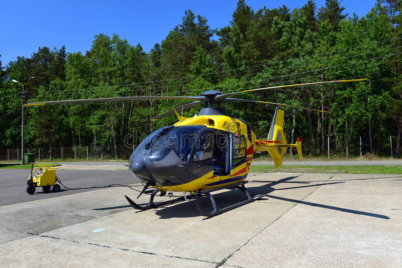 Download Rescue helicopter stock photo. Image of eurocopter, medical - 33947954