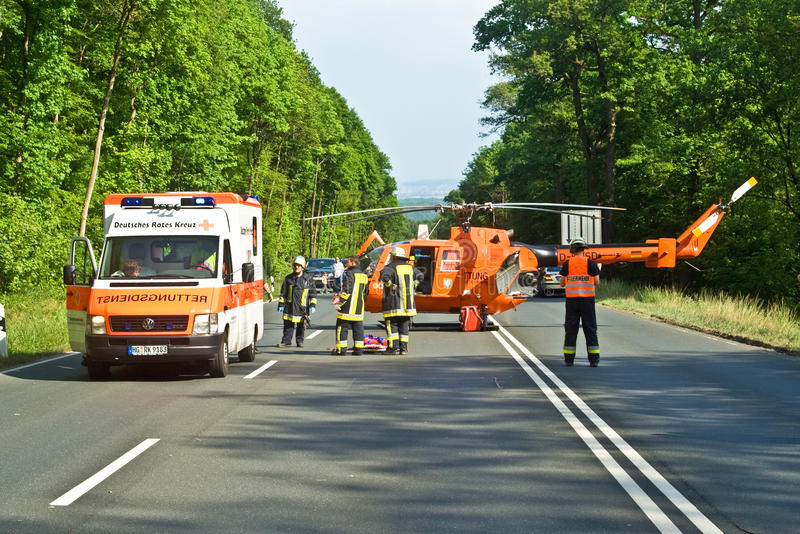 Download Rescue Operation On A Street Editorial Stock Image - Image: 27472964