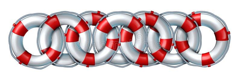 Rescue Partnership Stock Photography