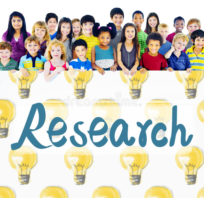 Research Answer Discovery Information Results Concept stock photos