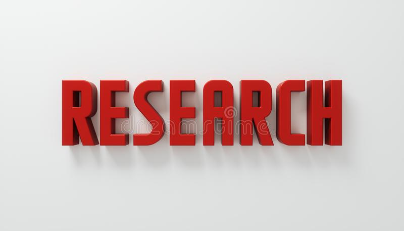 Research concept royalty free stock photo