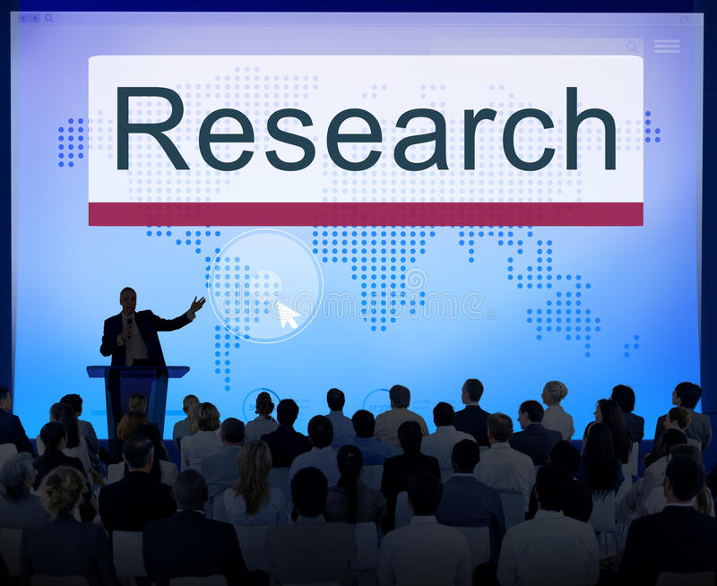 Research Education Exploration Information Concept royalty free stock photography