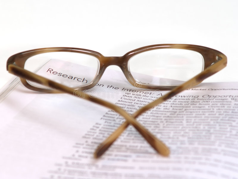 Download Research on the Internet stock image. Image of spectacles - 958401