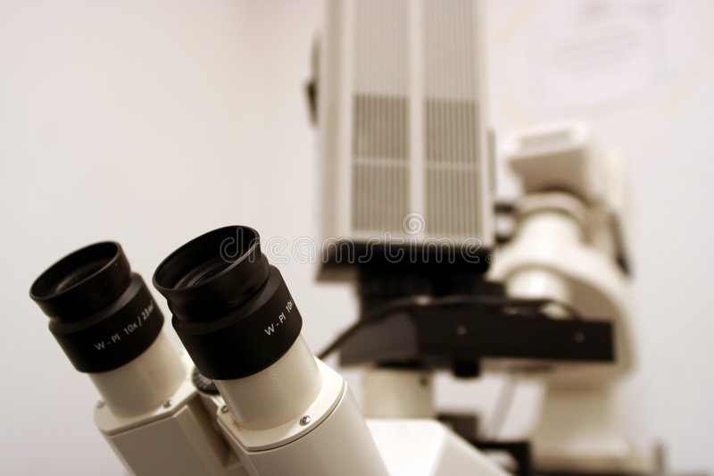 Download Research Microscope - Macro View Stock Image - Image: 7562045